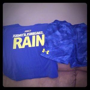 Under Armour Matching Sets - Shirt and Short Set